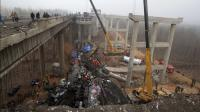 News video: At least eight dead in China bridge collapse
